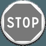 franchissement d'un stop